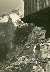 Alla capanna del Cervino, 1937