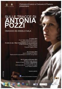 Locandina Sulle tracce di Antonia Pozzi